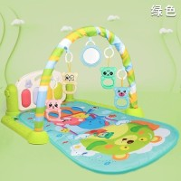 Baby Playmat Play Gym dengan Musik Dan Mainan Box Coklat