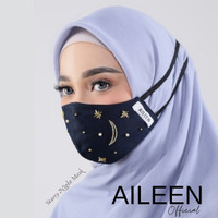 Starry Night Cotton Mask (Hijabloop)