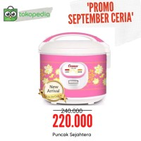 Rice cooker / Magic com Cosmos CRJ 3306 - Pink 1.8 Liter
