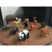 Mainan Figure Set Animal Kantong isi 12pcs YS5