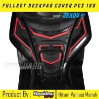 Fullset Deckpad Honda Pcx/Aksesoris Motor Honda/Sticker 3D murah