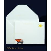 9 pcs/set kartu Builder &amplop ucapan ulang tahun anak kartu kosong