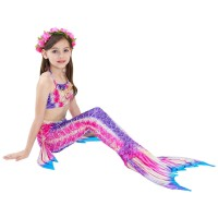 Baju Renang Kostum Mermaid Putri Duyung Anak High Quality MR36 - Size 120