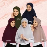 Emikoawa Bergo Vol.2 Hijab Jilbab Tali Instan Kerudung Maryam Premium