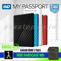 WD My Passport 1TB Harddisk Eksternal 2.5 USB 3.0
