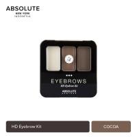 Absolute New York HD Eyebrow Kit 6 Shades Color AEBK