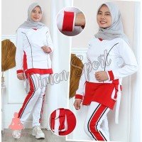 Setelan Celana Rok Senam | Baju | Celana | Gym | Fitnes | Olahraga