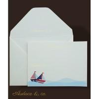 9 pcs/set kartu Sailor & amplop ucapan ulang tahun anak kartu kosong