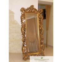 cermin ukir gold