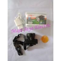Senter Kepala Luby Cas Ulang L2871 LED Rechargeable Head Lamp Headlamp