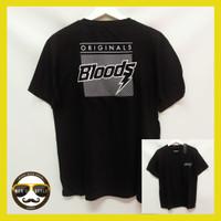 Baju Kaos Bloods Pria Distro Premium Bahan Katun Allsize