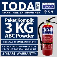 APAR 3 kg / Pemadam Api 3kg / Set Komplit TODA by TONATA