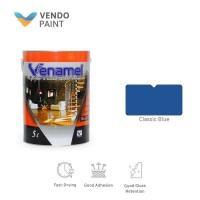 Cat Kayu dan Besi Venamel 5 L Classic Blue setara Emco,Bee Brand