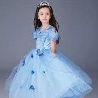 gaun anak perempuan kostum princess anak baju princess anak 1