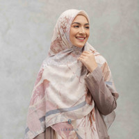 Hijab Segi Empat Syari Tencel Seradia - Aksamala - Cashmere Rose