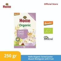 Holle Organic Cereal Junior Muessli Multigrain with ( Fruit )
