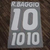 1994 ROBERTO BAGGIO #10 Italy Nameset