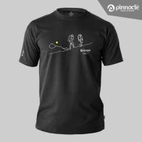 Pinnacle T-Shirt Trekking Outline - Kaos Pinnacle