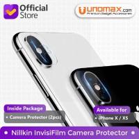 Camera Protector iPhone X / XS Nillkin InvisiFilm - Clear (2pcs)