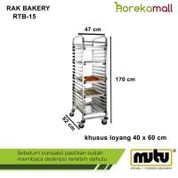 RTB-15 Mutu,bakery rak/rak loyang 40x60 cm hotel-restoran