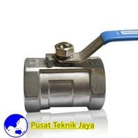 keran air Ball valve sankyo 1pc body 1/2(inch)