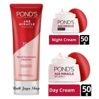 PONDS Age Miracle Youthful Glow Day Cream/Night Cream/Facial Wash