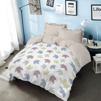 Bed Cover Hazel Kintakun Dluxe Microfiber Pink (7in1) 39 cm Double