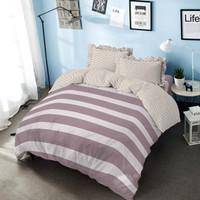 Bed Cover Nikita Kintakun Dluxe Microfiber Abu-abu (7in1) 39 cm Double