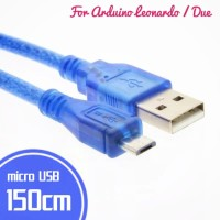 Kabel Data Micro USB for Arduino Leonardo Promicro 150cm MicroUSB 1.5M