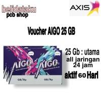 Voucher Data AXIS AIGO 25 GB