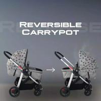 Stroller Babydoes GB 200 E CXT Reversible Carrypot Stroller