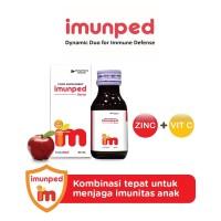 Imunped Syrup 60 ml - Vitamin C + Zinc