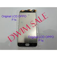 LCD Oppo F1s fullset touchscreen original - Putih Top Ori - Putih