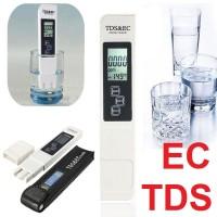 EC TDS Meter Pena Pengukur 3 in1 PPM Kualitas Air Tester Hidroponik