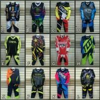 Baju jersey Stelan Balap Motor Honda Trail Anak
