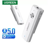 UGREEN Bluetooth 5.0 Clip Audio Jack Receiver 3.5mm Aux APTX LL HIFI