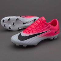Sepatu Bola - Nike Mercurial Vapor Xi Racer Pink White |Free Kaos Kaki