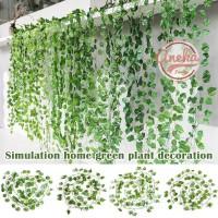 Daun Rambat Plastik IVY / Hiasan Daun Artificial / daun plastik murah