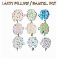 PNB76 LAZZY PILLOW BANTAL DOT BAYI / BANTAL PENYANGGA BOTOL SUSU
