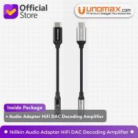 Audio Adapter USB-C to 3.5mm Jack Nillkin HiFi DAC Decoding Amplifier