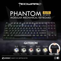 Tecware Phantom Elite 87 TKL RGB - Mechanical Gaming Keyboard