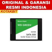 SSD WD Green 240GB 3D NAND SATA 2.5 7mm WDC Internal Original Resmi