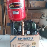 Pompa Jet Pump SHIMIZU PC 260 bit Pompa air Listrik otomatis sumur