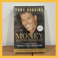 Buku Import Money Master the Game by Tony Robbins (Original Paperback)