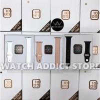 Smartwatch IWO 8 Upgraded IWO 5 Best clone Version iWatch Apple Watch - T55, Merah Muda