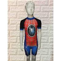 baju renang anak karakter spiderman diving Tk Usia 4-8 tahun
