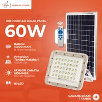 VIOLIN LAMPU SOROT SOLAR 80LED Solar Cell 60Watt Outdoor Sensor Cahaya