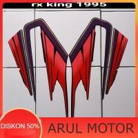 sticker motor rx king 1995 merah Murah Terlaris Terbaru
