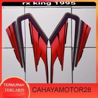 sticker motor rx king 1995 merah Murah Terlaris