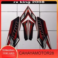 stiker body motor rx king 2008 merah Murah Terlaris